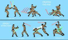 (c) Pere Pérez #StarWars #Jedi #lightsaber