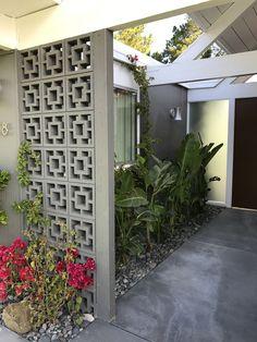 Decorative Concrete Blocks, Breeze Block Wall, Wall Design, House Design, Ideal Home, Interior Architecture, Interior Design, My Dream Home, Home Deco
