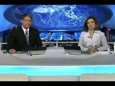 Jornal Nacional - Brasil e Paraguai se confundem no mapa e nas ruas de P...