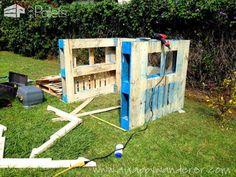 Charming, Inspired Pallet Kids Playhouse Fun Pallet Crafts for Kids Pallet Sheds, Pallet Cabins, Pallet Huts & Pallet Playhouses