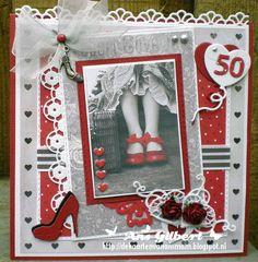 Hallo Allemaal, toen ik dit plaatje tegen kwam moest ik meteen denken aan 't sprookje van H.C.Andersen, de rode schoentjes..Wij hadden, ...