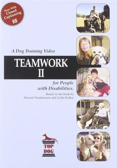 Based on the book by Stewart Nordensson and Lydia Kelley. Teamwork is designed to teach people with disabilities to train their own dogs. Consistency, patience, positive attitude and setting yourself up to succeed are the keys to training a service dog. | eBay!