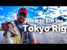 Does the Tokyo Rig Catch Giant Bass? - How to Fish the Tokyo Rig - Bass Fishing Bass Fishing Tips, Fishing Rigs, Fishing Knots, Ice Fishing, Trout Fishing, Saltwater Fishing, Kayak Fishing, Fishing Stuff, I Love Bass