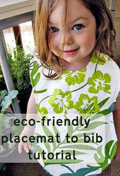 big toddler bib tut & pattern! My Mr. Messy NEEDS this!