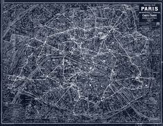 Black out. #paris #maps