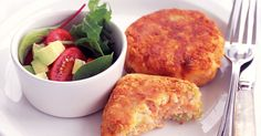 The kids will love helping to make these super simple tuna and potato patties.