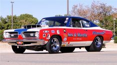 Sox & Martin 1968 Pro Stock Barracuda | Blog - MCG Social™ | MyClassicGarage™