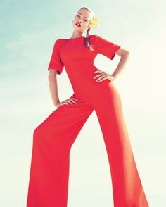 Definitely two things here:   1. Poppy is a must  2. I think I'm in need of trying a jumpsuit...