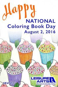 Enter The Giveaway At Leisure Arts! http://www.leisurearts.com/giveaways/national-coloring-book-day-giveaway.html