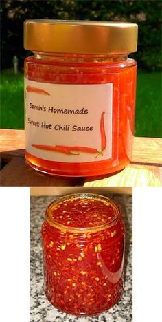 Süße Chili Sauce- selbstgemacht Sehr, sehr lecker! :-)  http://www.pepperworld.com/cms/rezept.php?ID=133