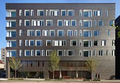 Image 1 of 21 from gallery of West Campus Student Housing / Mahlum. Photograph by Benjamin Benschneider