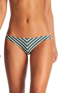 153f5e7c74079 Vitamin A Swim Rio Bottom in Marin Stripe