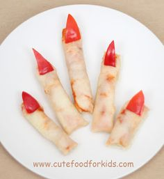 What's the must have on your Halloween party menu? Finger foods! Not any finger food. You need finger looking food! How about finger pi...