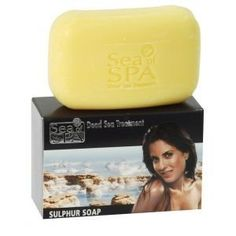 Dead Sea Sulphur Soap - Psoriasis & Eczema Treatment by Sea Of Spa. $4.00. Contains Olive Oil and Aloe Vera that balance the skin natural moisture.. known for its relief proper ties to skin problems, such as Psoriasis and Eczema. Enriched with Dead Sea minerals and sulphur. Enriched with Dead Sea minerals and sulphur, Sea of Spa Sulphur soap is known for its relief proper ties to skin problems, such as Psoriasis and Eczema. Contains Olive Oil and Aloe Vera that ba...