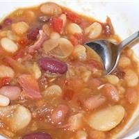 15 Bean Soup (Pressure Cooker) Recipe on WeGottaEat