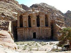 This is Petra. It is in Jordan.