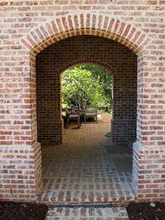 Brick Siding, Brick Paneling, House Siding, Hacienda Style Homes, Brick Companies, Painted Brick Walls, Brick Arch, House Foundation, Brick Colors