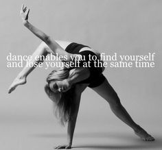 I miss dance so much!