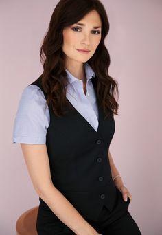 dámská vesta, košile s krátkým rukávem Blazer, Jackets, Women, Fashion, Down Jackets, Moda, Fashion Styles, Blazers, Fashion Illustrations
