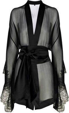 Sheer robe