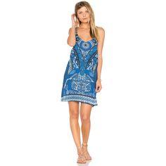 Maaji Look At Me Dress (133 AUD) ❤ liked on Polyvore featuring dresses, swim, beaded dress, maaji dress, beaded fringe dress, woven dress and swim dress