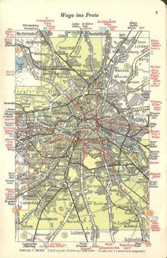 Berlin (1940) #map #berlin #germany #deutschland