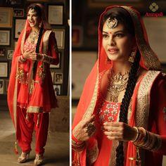 Jaqueline Fernandes in Amrapali Jewelers . Visit the nearest Amrapali Jewels in Delhi NCR