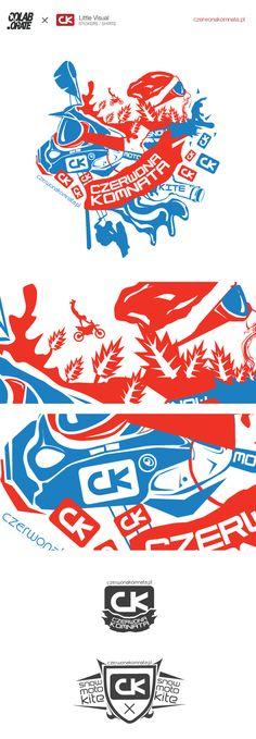 CK - czerwonakomnata.pl SNOW/MOTO/KITE by Grzegorz Rauch, via Behance