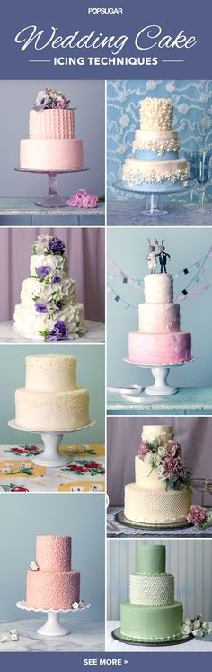 Your Guide to Wedding Cake Icing Terminology — so you can tell your baker the style you like