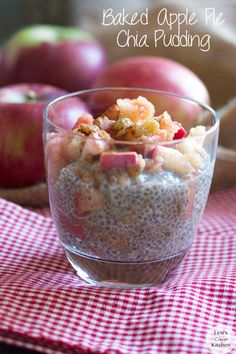 Baked Apple Pie Chia Pudding
