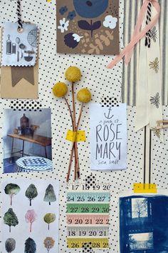 Organic Inspiration Mood board | Rosehip