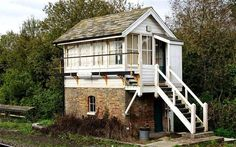 Twenty-six of the UK& railway signal boxes have been granted Grade II listed status by the Department for Culture, Media and Sport. Here are some of the historic structures that received listed status. Disused Stations, Network Rail, Steam Railway, Railway Posters, Train Pictures, English Heritage, Garden Buildings, Water Tower, East Sussex