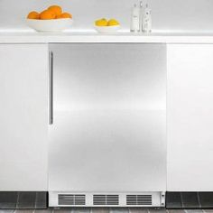 "Affordable  Summit FF6BISSHVADA 24"" Built In Undercounter All Refrigerator with Stainless Steel Door, Vertical"