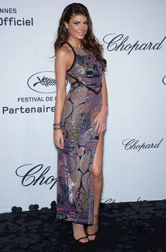 Angela Martini en la fiesta de Chopard en Cannes