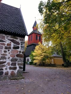 The belfry in the churchyard, Lohja . Picture : Jaana Perheentupa
