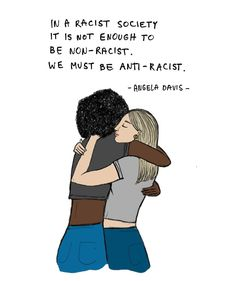 """Polubienia: 30, komentarze: 0 – Bee Curious (@letsbeecurious) na Instagramie: """"Racism is taught. We are not born with hate in our hearts. People learn to hate. Let's choose…"""" Angela Davis, My Doodle, My Drawings, Hate, Doodles, Teaching, Let It Be, Writing, Memes"""