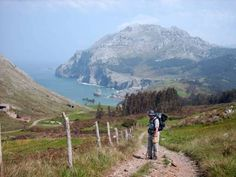 The Camino De Santiago trail: Begins in France and streches 900km, about a 30 day walk to Santiago.