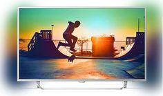 TV LED Philips 55PUS6412 4K UHD pas cher prix Téléviseur 4K Darty 699,00 € TTC au lieu de 899 €
