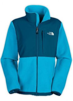 The North Face Women's Denali Jacket Turquoise Blue $99.00