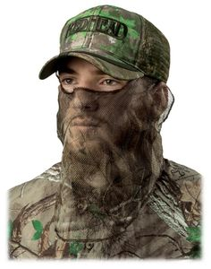 RedHead® Mask Call Cap   Bass Pro Shops This is what I use. The mask is built into the hat.