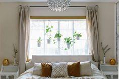 Trendy bedroom window behind bed headboards ideas Bed Against Window, Window Behind Bed, Window Headboard, Window Bed, Bedroom Furniture, Bedroom Decor, Bedroom Ideas, Bedroom Photos, Bed Frame Design