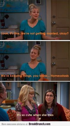 Funny Big Bang Theory: it is so cute when she tries