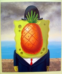 Rene Magritte Son Of Man | The Son of Man (René Magritte)
