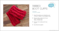 RibbedBootCuff