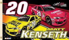 matt kenseth | Matt Kenseth BSI Husky/Dollar General Flag