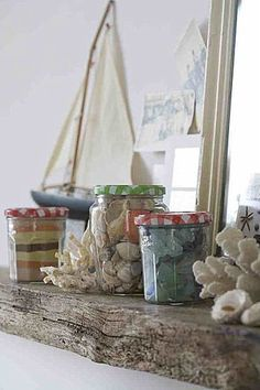 LAKE COTTAGE DREAMS: Beach House Decorating Ideas