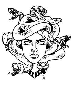 old school tattoo & old school tattoo . old school tattoo traditional . old school tattoo sleeve . old school tattoo men . old school tattoo designs . old school tattoo black . old school tattoo girly . old school tattoo traditional black Flash Art Tattoos, Body Art Tattoos, Small Tattoos, Sleeve Tattoos, Tattoos On Hand, Henna Tattoos, Medusa Kunst, Medusa Art, Medusa Drawing