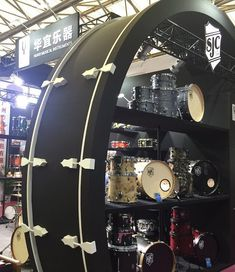 "6,157 Likes, 32 Comments - SJC Custom Drums (@sjcdrums) on Instagram: ""Amazing seeing this huge #sjcdrums display at the Shanghai Drum Show in China - head to our Dealer…"""