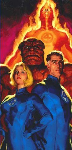 Fantastic Four by Glen Orbik  Auction your comics on http://www.comicbazaar.co.uk