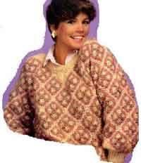 Granny Sqaure Sweater
